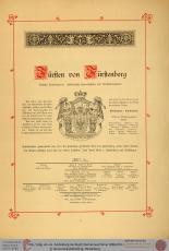 011Becke-KluechznerStammtafelnGrafenundFuerstenzuFuerstenbergEinleitungUniHeidelberg01