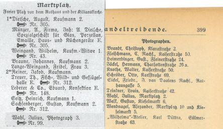 Fotograf Julius Wahl AB HN 1920