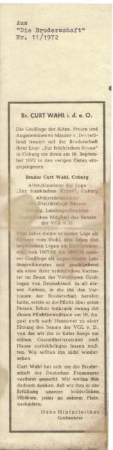 Geburtsurkunde Edith Wahl 065