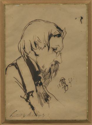 Théophile Schuler_Portrait d'Alphonse Chuquet_CE XXXVII.13