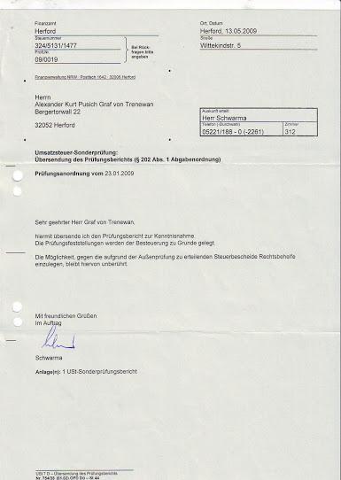 umsatzsteuersonderpruefungsberichtanlage2009begleitschreiben