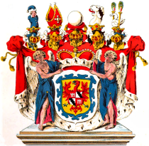 Wappen_der_Fürsten_zu_Fürstenberg,_koloriertLeonhardDorstvonSchatzbergWuerttembergischesWappenbuch