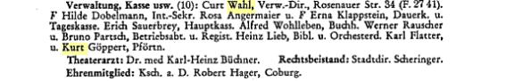 Deutsches Buehnen Jahrbuch Band 77 verlang guenther und sohn
