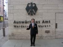 Alexander besucht Auswärtiges Amt , Berlin 2011