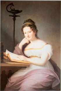 Fuerstin Amalie zu Fuerstenberg geborene Prinzessin von Baden