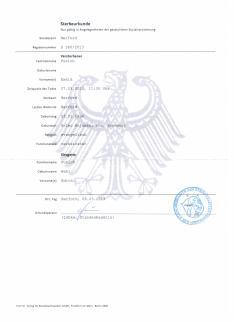 Nacionalidad y Residencia Alexander Kurt Pusich 054